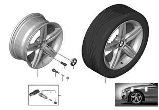 BMW LA wheel, Star Spoke 379