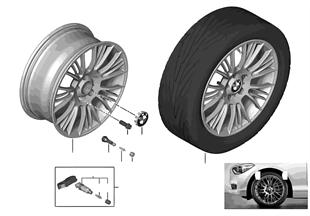 BMW LA wheel Radial Spoke 388 — 18''