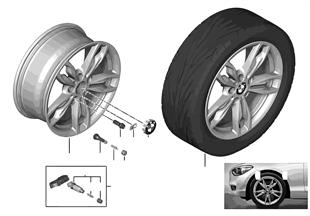 BMW LA wheel M Double Spoke 436-18''
