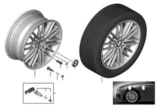 BMW LA wheel M Double Spoke 460 — 17''