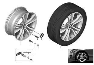 BMW LA wheel Double Spoke 384 — 18''