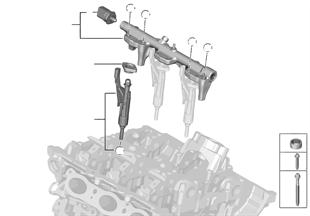 Hochdruckrail / Injektor