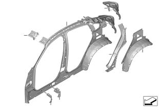 Pezzi singoli per ossatura laterale