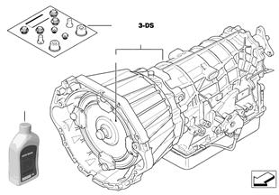 Automatikgetriebe A5S440Z
