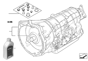 Automatische transmissie A5S325Z