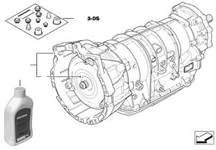 Cambio automatico A5S390R — 4 ruote