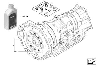 Autom. převod. GA6HP26Z — pohon vš. kol