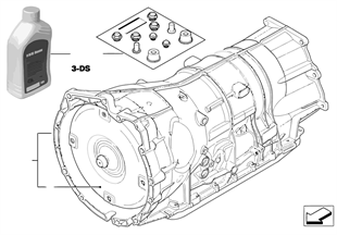 Cambio automático GA6HP26Z — 4 ruedas