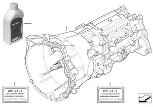 手動變速箱 GS6X37BZ/DZ - 四輪驅動