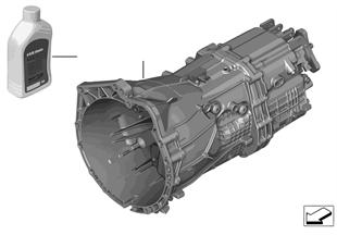 Χειροκίνητο κιβώτιο ταχυτήτων GS6-45BZ