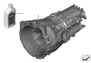 Ręczna skrzynia biegów GS6-17BG