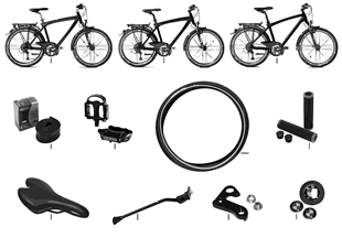 BMW Replacement parts — Touring Bike II