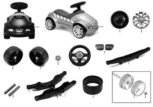 BMW Ersatzteile — Baby Racer II