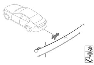 Cabo do sensor Smart Opener