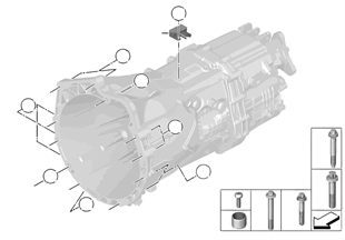 Befestigung / Aufhängung GS6-45BZ