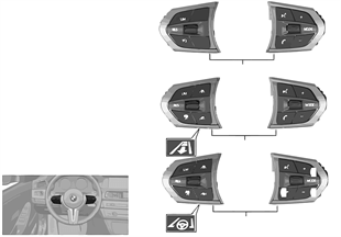 Interr. volante multifunzione M Sport
