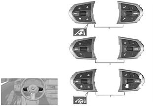 Spínač volant multifunkční sportovní M