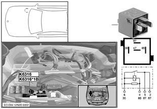 Реле привода клапанов с изм.ходом K6316