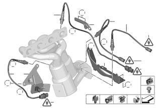 氧傳感器/安裝件