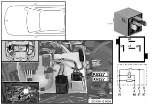 Relè valvole di iniezione K6327