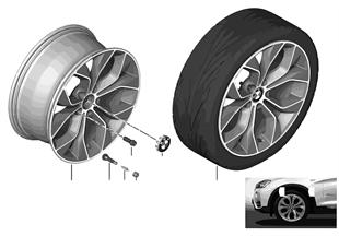 BMW LM Rad Y-Speiche 608-19''