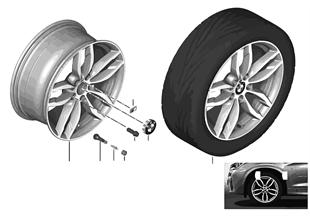 """BMW LM Rad M Doppelspeiche 622 — 19"""""""