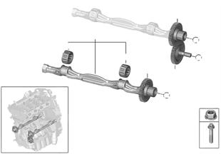 Klikový mechanismus-vyvážení hmot