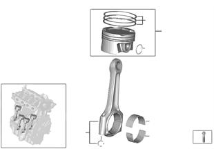 Klikový mechanismus-ojnice/píst