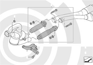 Repair kit for flexible tube