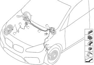 Bremsleitung vorne