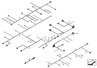 Různé dodatečné kabelové sady