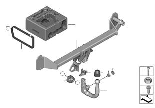 Predisposizione supporto posteriore