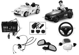 อะไหล่ BMW - M3 Motorsport Electro