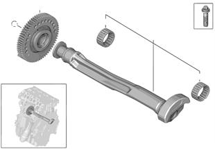 크랭크샤프트 드라이브-질량 밸런스