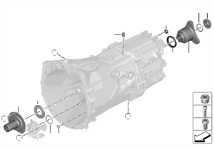 GS6-45BZ Dichtungen / Anbauteile