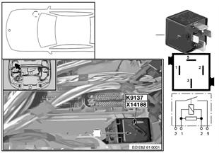 繼電器 電動風扇 K9137