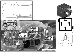 Ρελέ ηλεκτρικής φτερωτής K9137