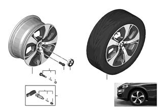 """BMW LM Rad Turbinenstyling 472 — 16"""""""
