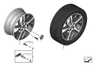"""BMW LM Rad Y-Speiche 480 — 17"""""""