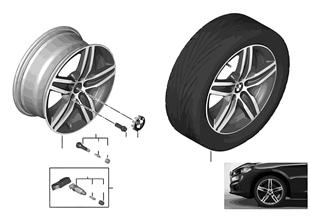 """BMW LM Rad Sternspeiche 379 — 17"""""""
