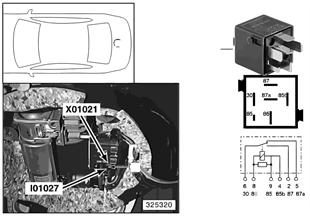 Relais compressorpomp I01027