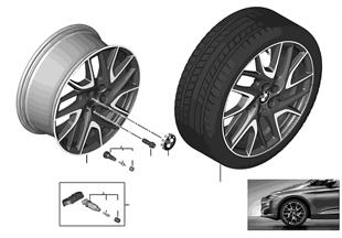 """BMW LM Rad Turbinenstyling 487 — 19"""""""