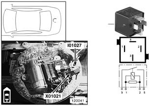 Реле компрессорного насоса I01027