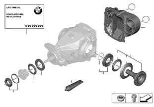 Hinterachsgetriebe Einzelteile