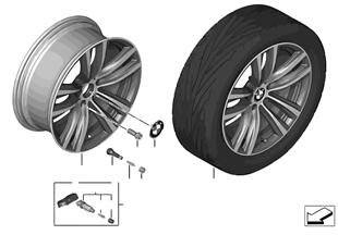 """BMW LM Rad Doppelspeiche 466 — 19"""""""
