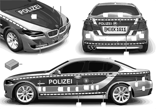 Stickers politie