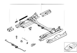 前部座椅 座椅導軌 機械傳動/部件