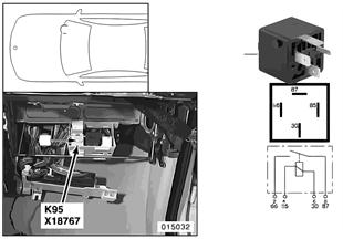 Relé ovládání ventilů K95