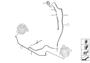 Unterdrucksteuerung-Motorlager