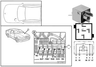 Relé ventilador de calefacción K4